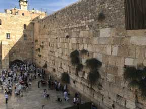 The Kotel--The Western Retaining Wall of the Temple Mount