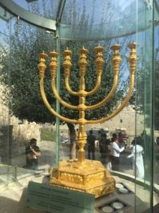 Golden Menorah Prepared for the 3rd Temple